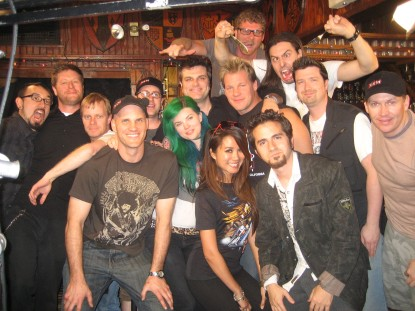 The Six14 Crew with Chris Jericho and Andrew W.K.